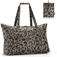 Сумка складная mini maxi travelbag baroque taupe