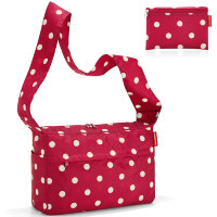 Сумка складная mini maxi citybag ruby dots