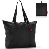 Сумка складная mini maxi travelshopper black