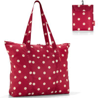 Сумка складная mini maxi travelshopper ruby dots